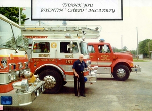 Sidney Fire Dep't Thanks Chebo